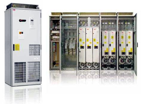 Приводы шкафного исполнения ACS800-07 до 2800 кВт