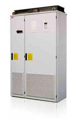 Рекуперативные приводы шкафного исполнения ACS800-17 до 2500 кВт