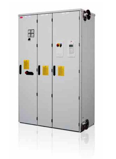 Рекуперативные приводы с жидкостным охлаждением ACS800-17LC до 5200 кВт