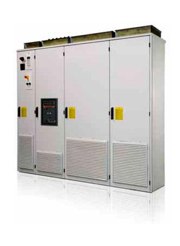 Приводы шкафного исполнения с низким содержанием гармоник ACS800-37 до 2700 кВт