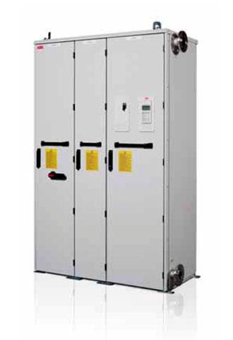 Приводы с низким содержанием гармоник и с жидкостным охлаждением ACS800-37LC