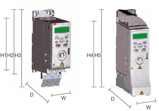 Преобразователь частоты ABB серии ACS150