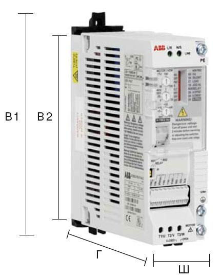 Частотный преобразователь ABB серии ACS55