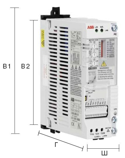 Компонентные приводы ACS50